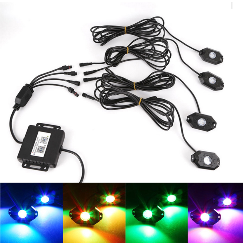 Off-Road RGB Color Led Rock Light